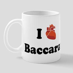 I (Heart) Baccarat Mug