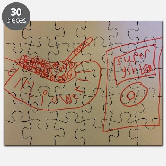 Unique Girlpower Puzzle