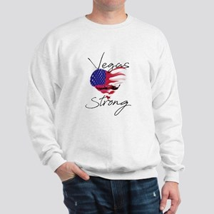 Vegas Strong for WHITE Shirts Sweatshirt