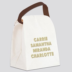 THE GIRLS Canvas Lunch Bag