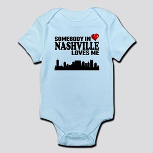 Somebody in tennessee loves me gifts cafepress somebody in nashville loves me body suit negle Images