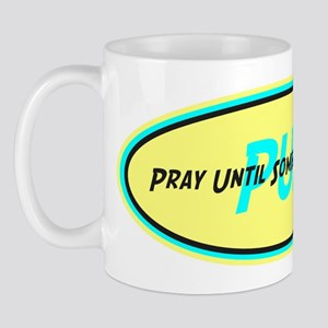 Retro PUSH Mug