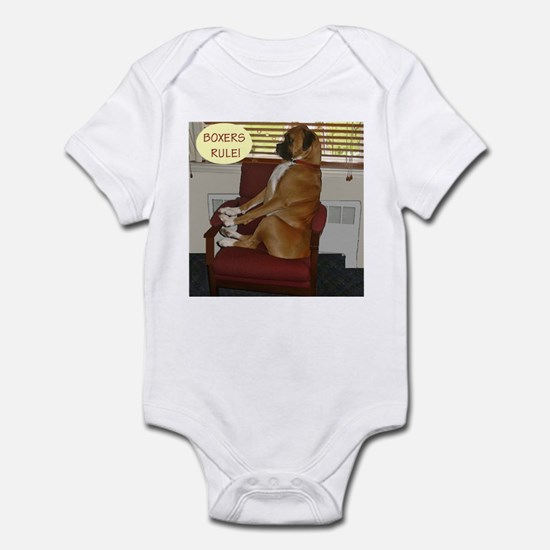 Jackson the Boxer Infant Bodysuit 10
