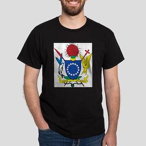 Cook Islands Coat Of Arms Ash Grey T-Shirt