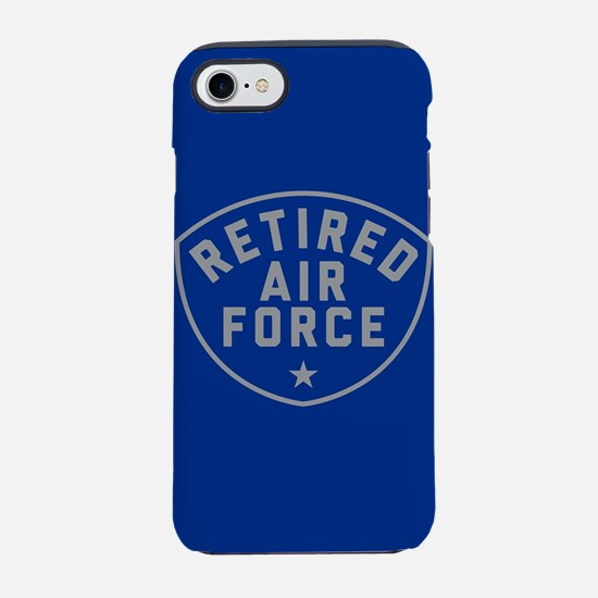 Retired Air Force iPhone 8/7 Tough Case
