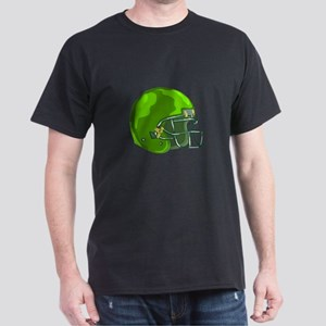 American Football Helmet Green WPA T-Shirt