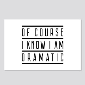 Of Course I Know I Am Dramatic Postcards (Package