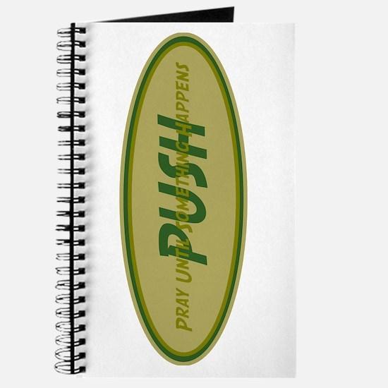 Khaki PUSH Journal