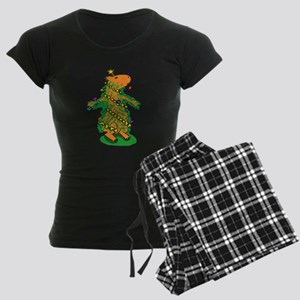 Christmas Tree Capybara Pajamas