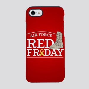 USAF RED Friday Boots iPhone 8/7 Tough Case