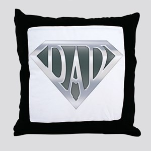 spr_dad_chrm Throw Pillow