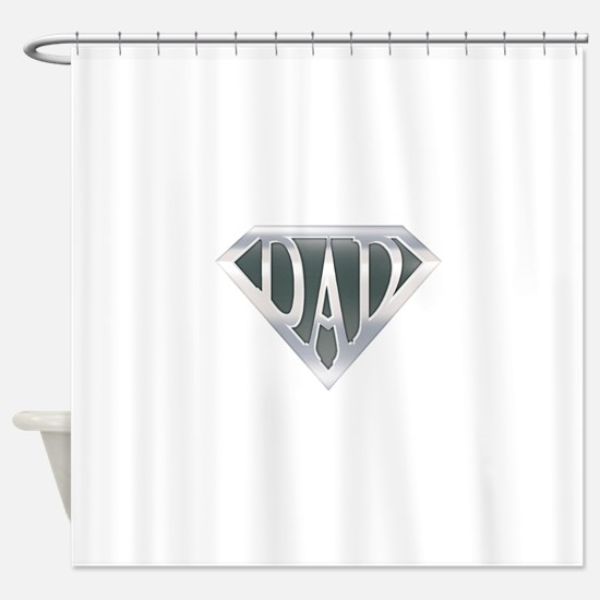 spr_dad_chrm.png Shower Curtain