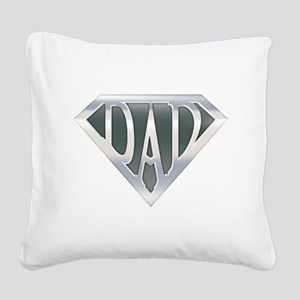 spr_dad_chrm Square Canvas Pillow