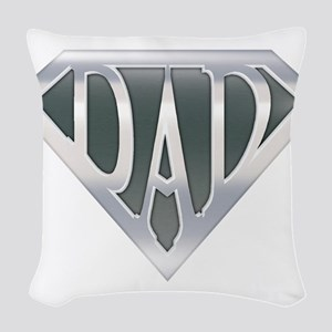 spr_dad_chrm Woven Throw Pillow