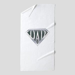 spr_dad_chrm Beach Towel