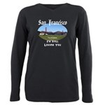San Francisco Plus Size Long Sleeve Tee
