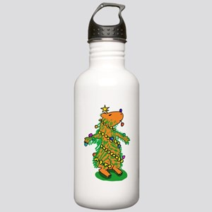 Christmas Tree Capybar Stainless Water Bottle 1.0L