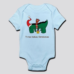 T-Rex hates Christmas Body Suit
