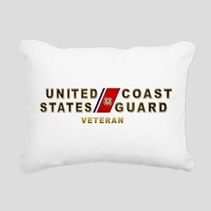 uscg_vetx Rectangular Canvas Pillow