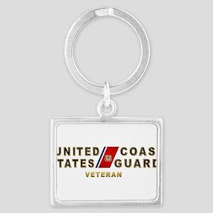 USCG Veteran Keychains