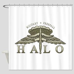 halo_1 Shower Curtain