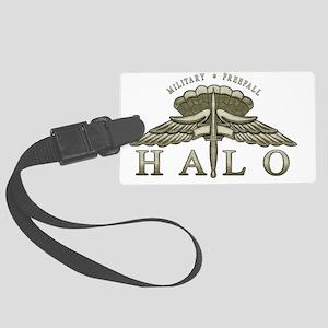 halo_1 Large Luggage Tag