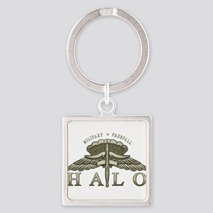 Halo Badge Keychains