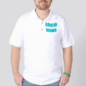 Husband Whine Flu Golf Shirt