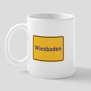 Wiesbaden Roadmarker, Germany Mug