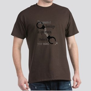 Unlock Your Mind Dark T-Shirt