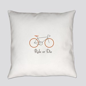 Ride Or Die Everyday Pillow