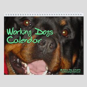 WORKING DOGS Wall Calendar