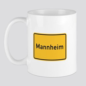 Mannheim Roadmarker, Germany Mug