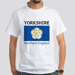 Yorkshire DS White T-Shirt