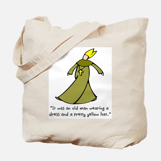Old Man in a Dress Tote Bag