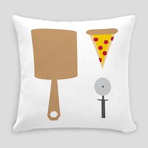 Pizza Utensils Everyday Pillow