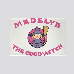 Madelyn the Good Witch Rectangle Magnet (10 pack)