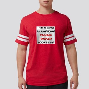 awesome package handler Mens Football Shirt