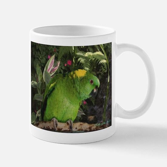 Yellow Nape Amazon Parrot Stainless Steel Travel M