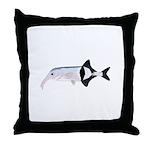 Campylomormyrus Elephantfish Throw Pillow