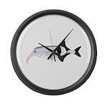 Campylomormyrus Elephantfish Large Wall Clock