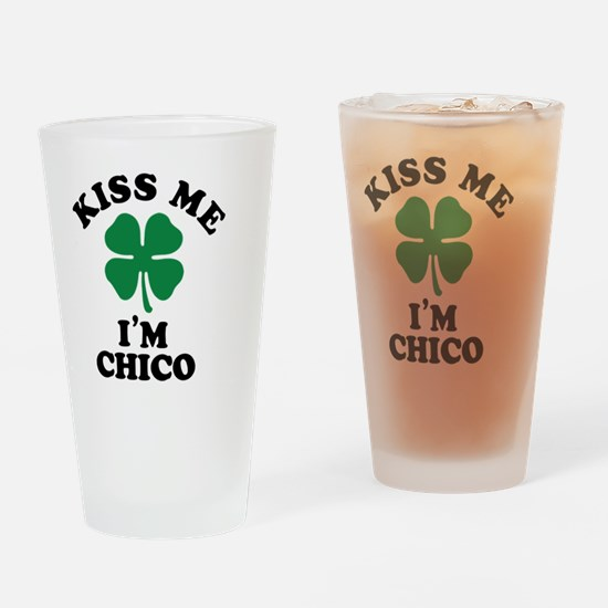 Cute Chico Drinking Glass