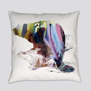Beaver Everyday Pillow