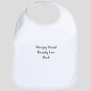 Sleepy Head Ready For Bed Bib