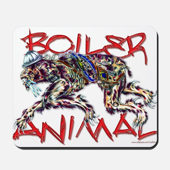 boiler animal Mousepad
