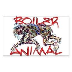 boiler animal Rectangle Decal