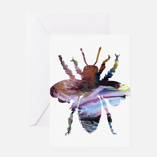 Bee queen Greeting Cards