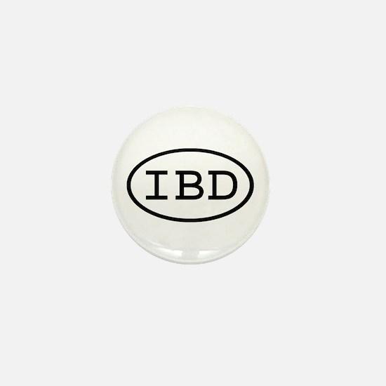 IBD Oval Mini Button