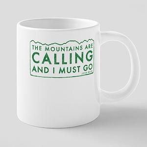 John Muir Mountains Calling Mugs