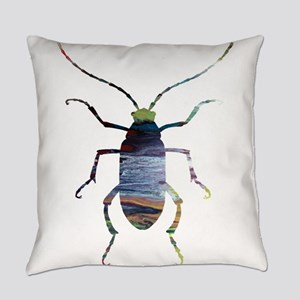 beetles Everyday Pillow